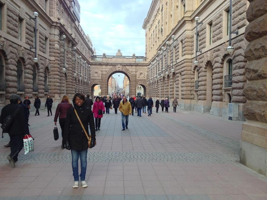 Nath near the Royal Palace - Stockholm, Sweden