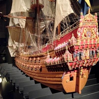 Réplique du Vasa - Musée Vasa, Stockholm, Suède