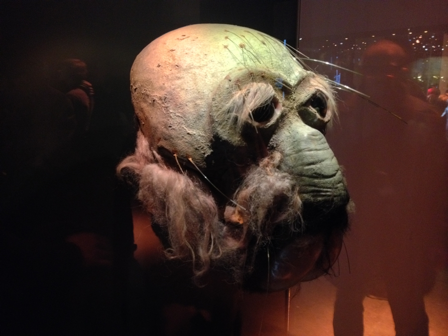 Un masque de tusken - Star Wars Identities, Lyon, France