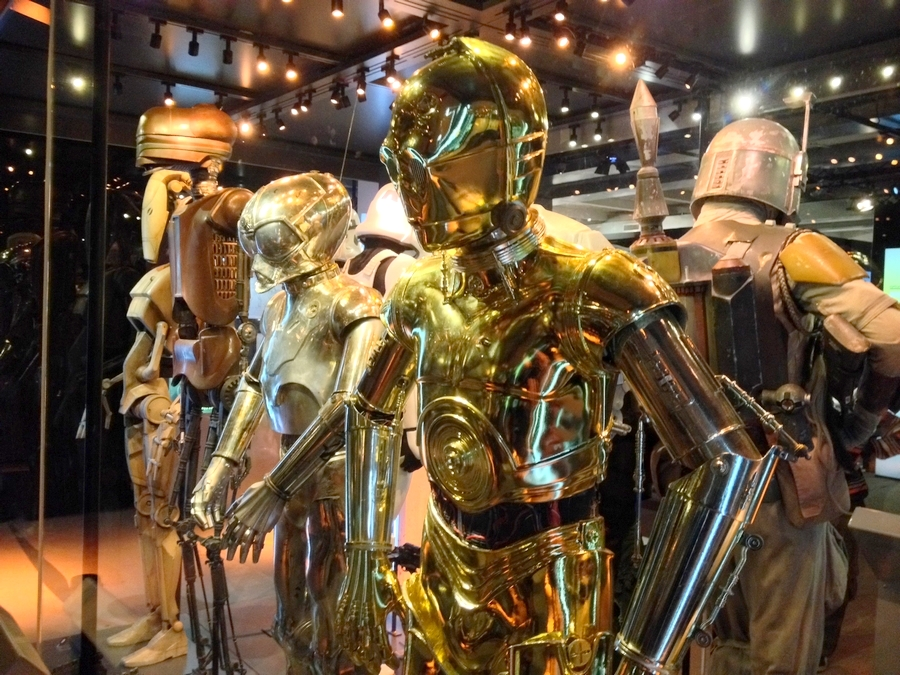 Robots costumes - Star Wars Identities, Lyon, France