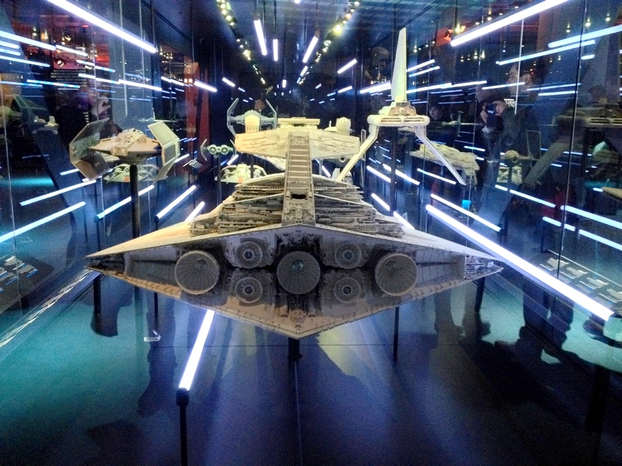Replica of a ship - Star Wars Identities, Lyon, France