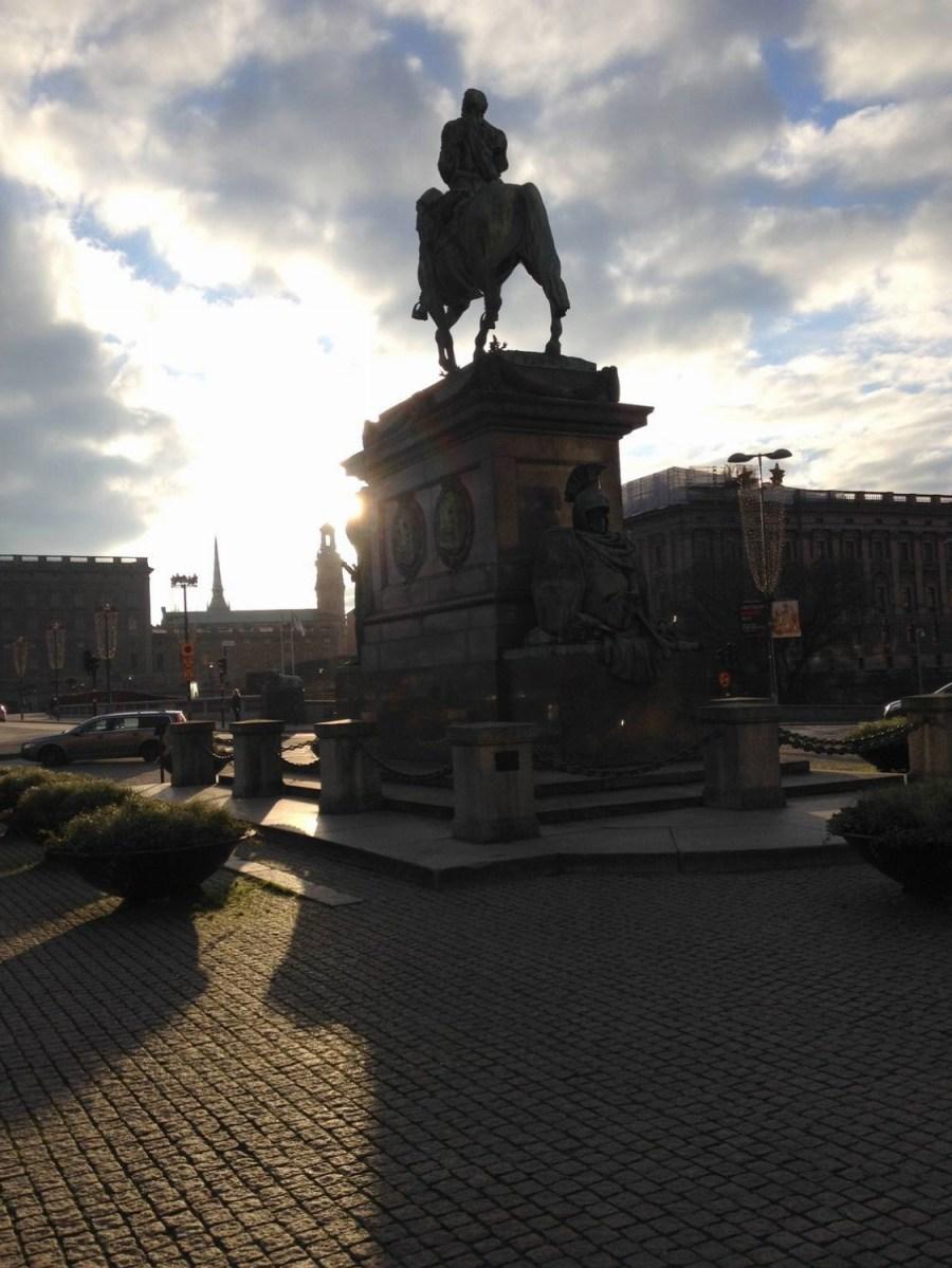 Charles XIII statue - Stockholm, Sweden