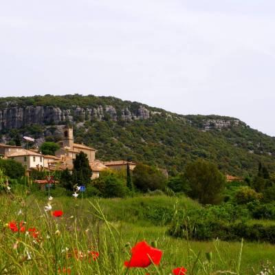 Le village de Corconne - France