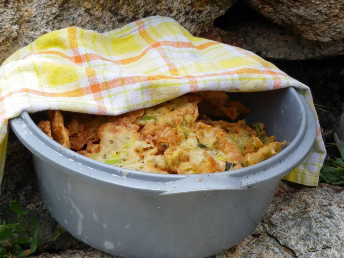 Zucchini fritters - Ghisoni Corsica