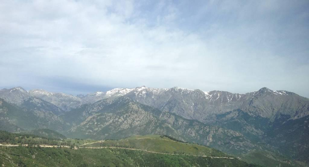 Vue sur les montagnes - Ghisoni, Corse