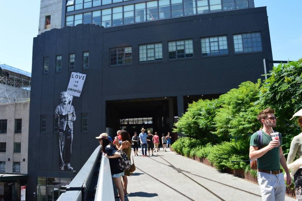 Balade sur la High Line - New York, Etats-Unis