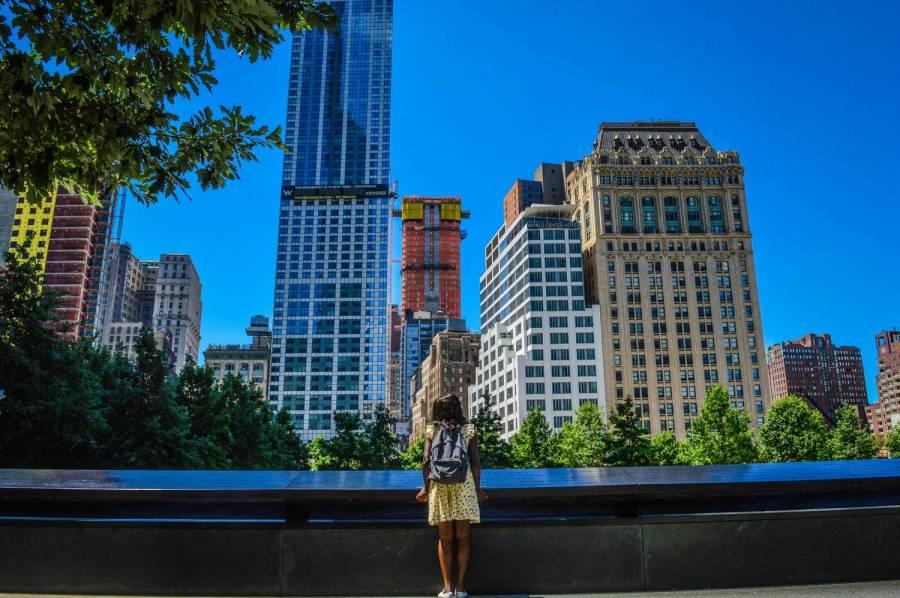 Nath au 9/11 Memorial - New York, Etats-Unis