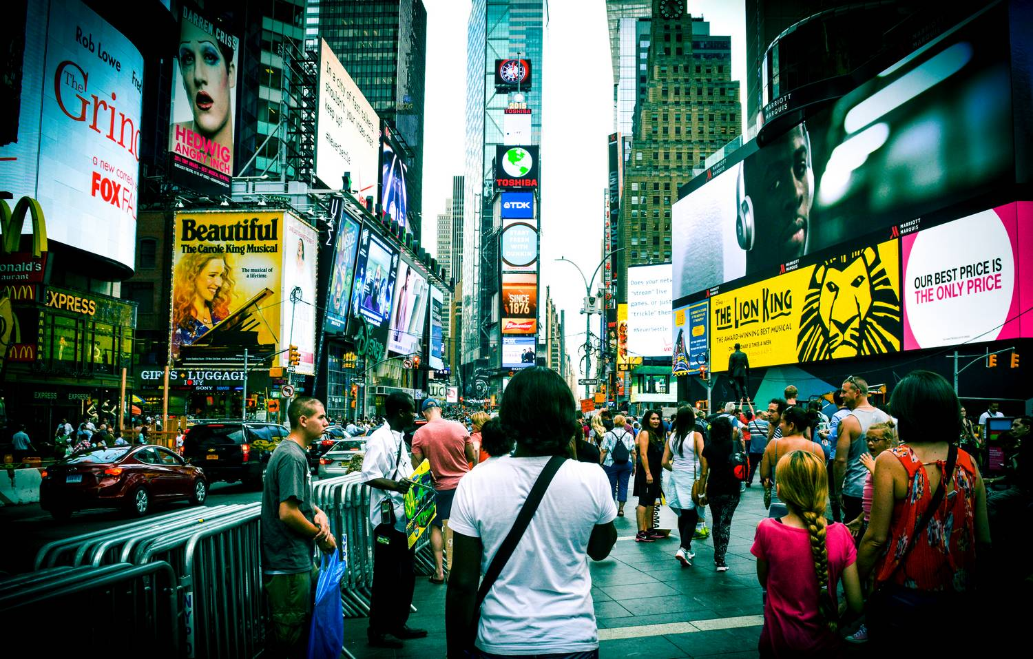 Nath in Times Square - New York, United States