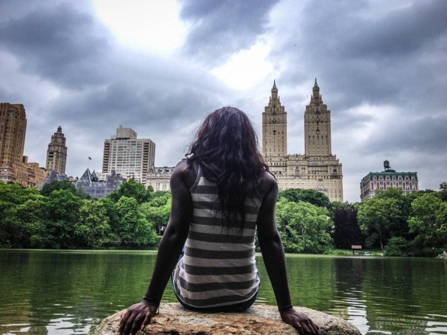 Nath dans Central Park - New York, Etats-Unis
