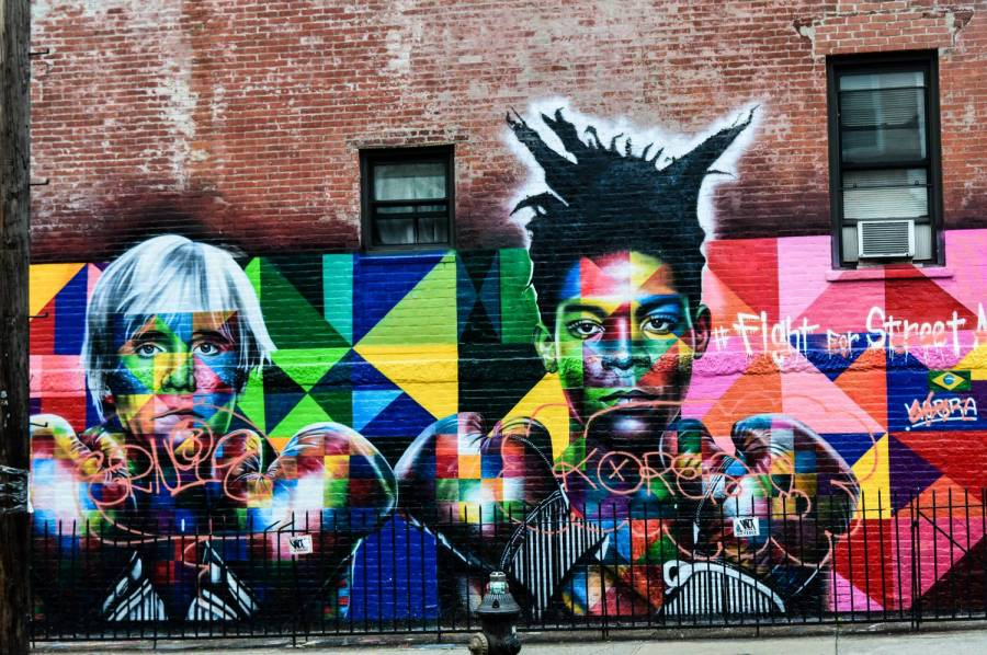 Street art à Greenpoint - New York, Etats-Unis