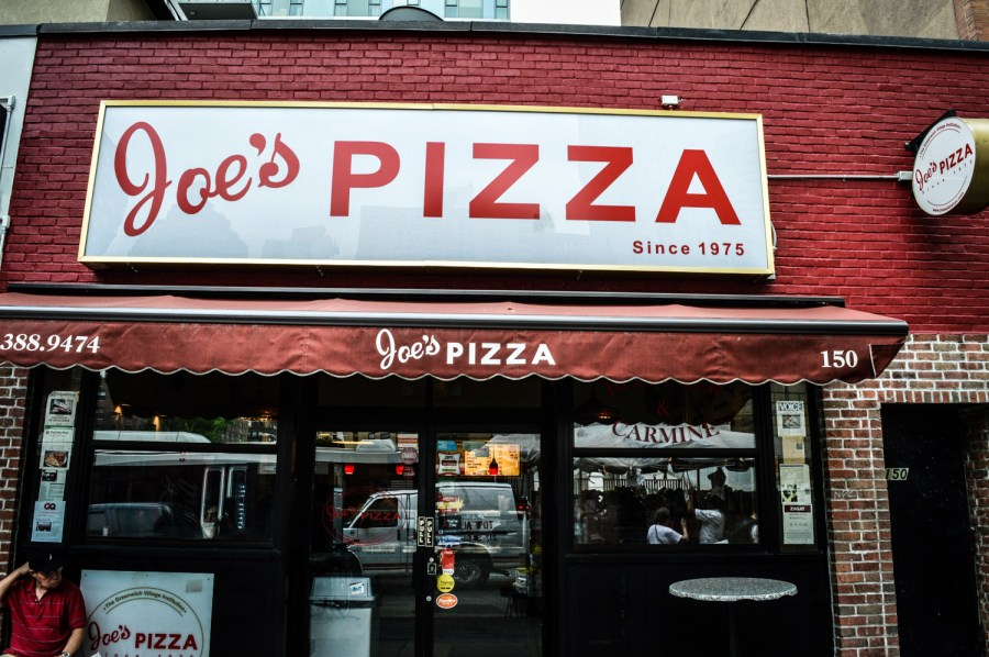 Joe's Pizza - New York, Etats Unis