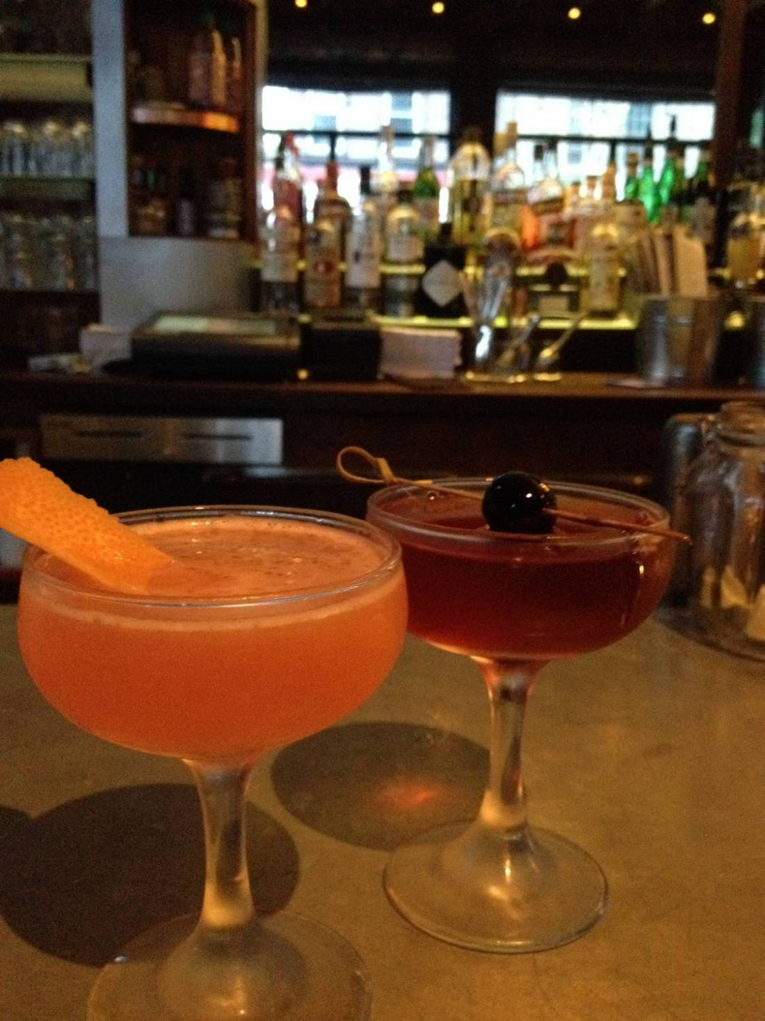 Our cocktails at Eugene & Co in Bedford-Stuyvesant, Brooklyn - New York, USA
