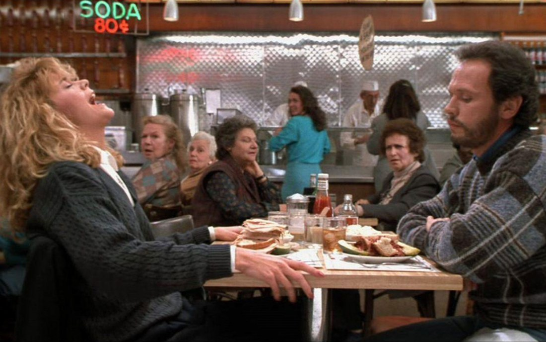 Scene from When Harry met Sally - New York, USA