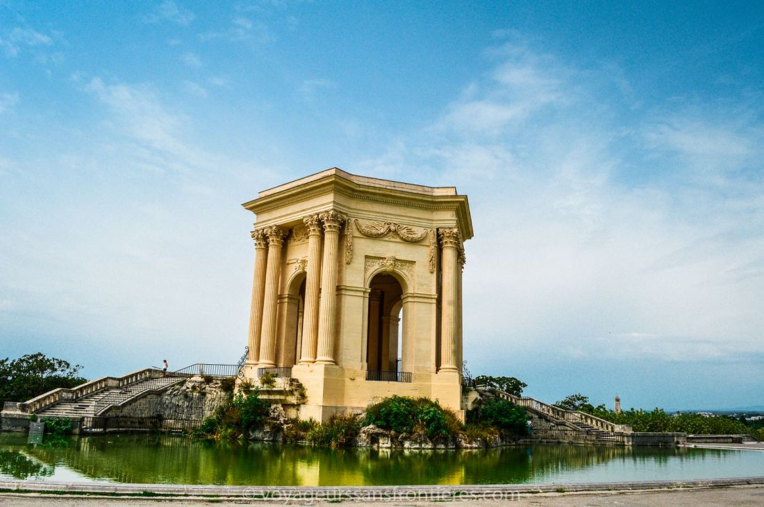 Peyrou's Water tower - Montpellier, France