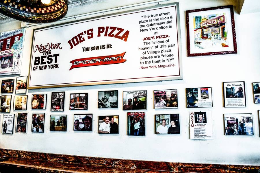 Joe's Pizza - New York, Etats-Unis