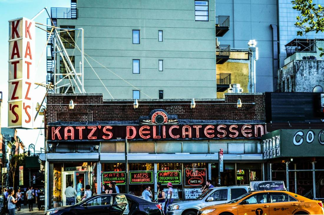 Kat'z Delicatessen - New York City, USA