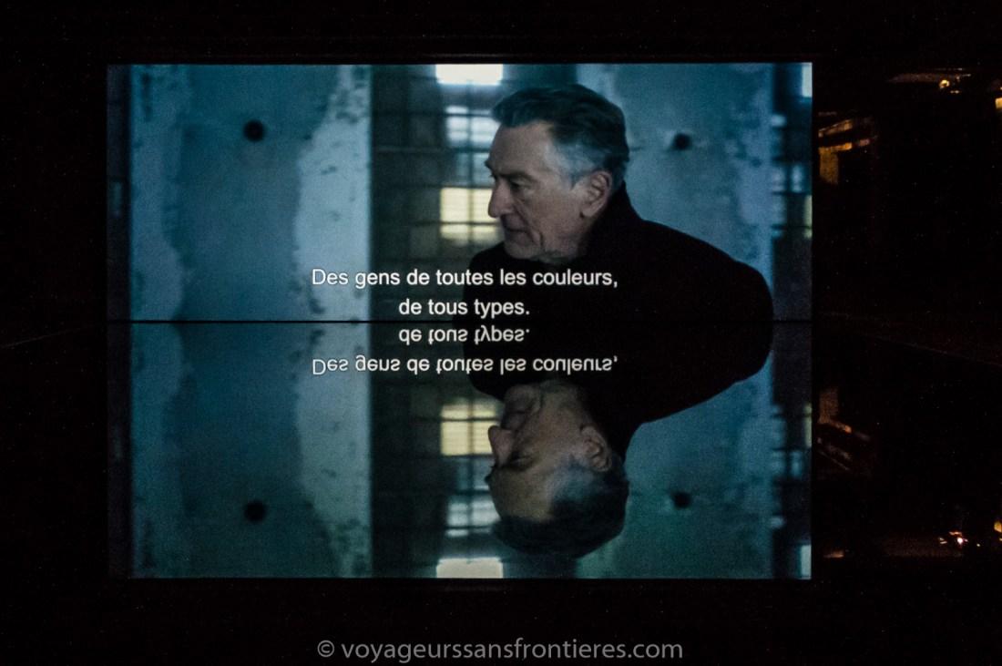 """The Ghosts of Ellis Island"" by JR starring Robert DeNiro - Lille, France"