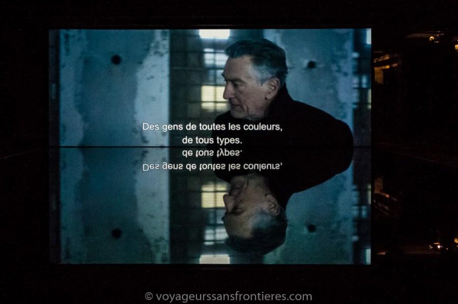 """The Ghosts of Ellis Island"" de JR avec Robert DeNiro - Lille, France"