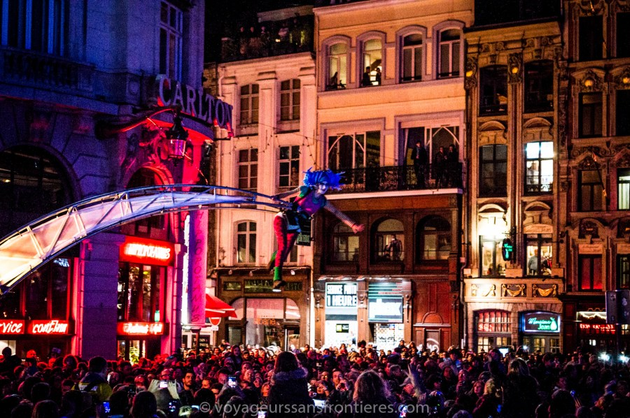 The opening parade of Renaissance - Lille, France