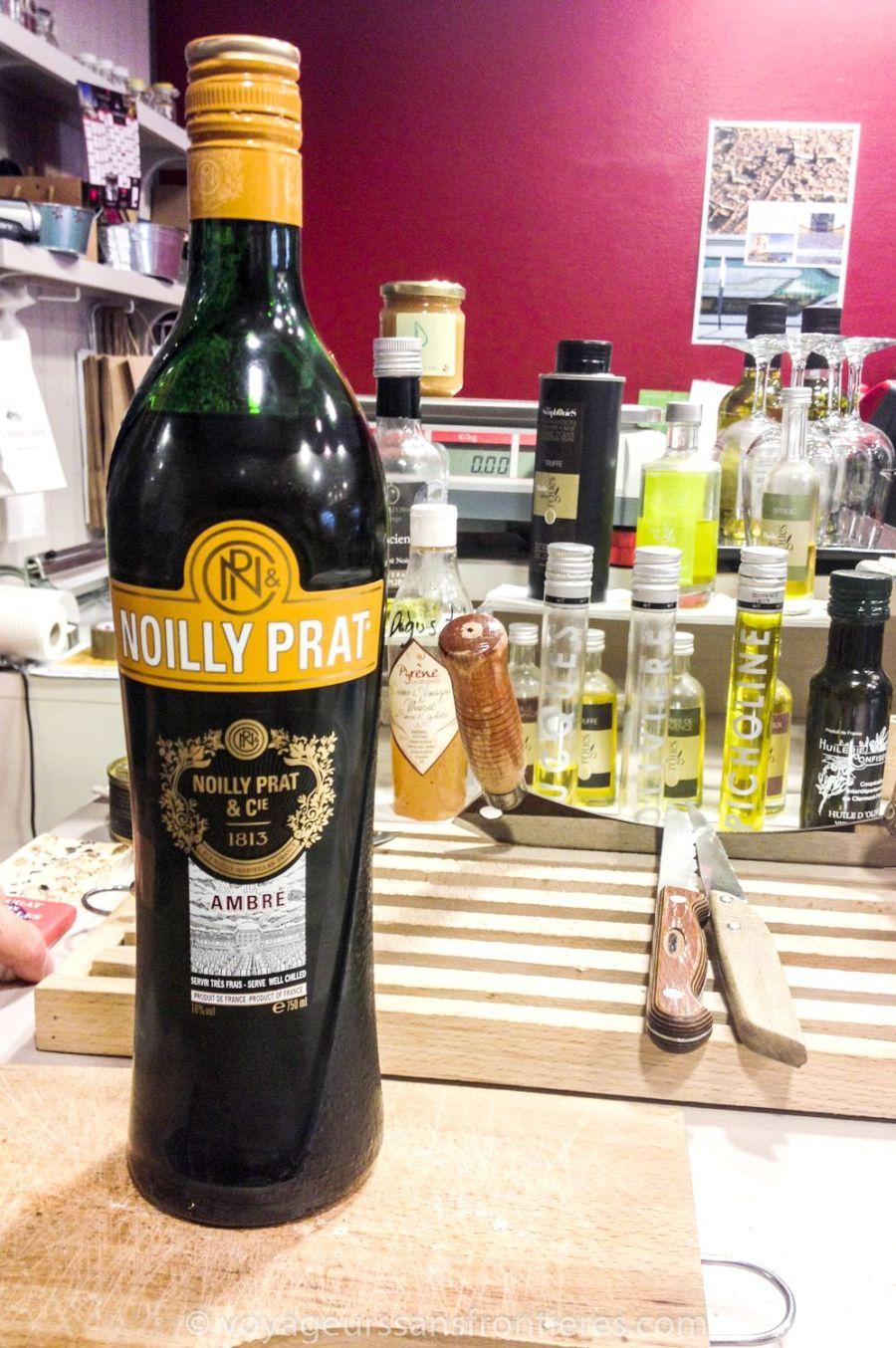 Noilly Prat ambré au Panier d'Aimé - Montpellier, France