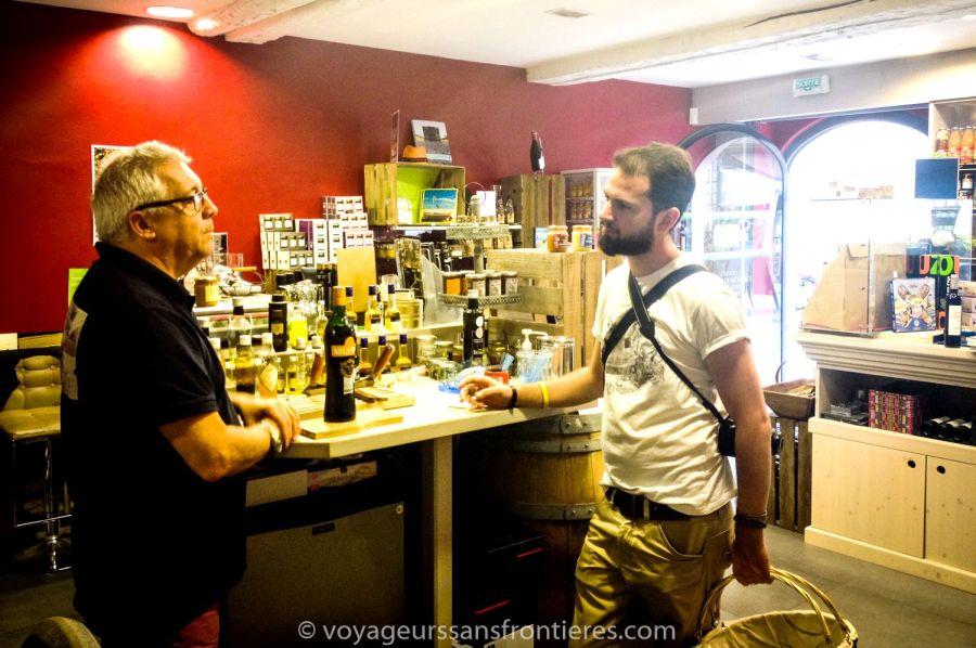 James and Séb at Le Panier d'Aimé - Montpellier, France