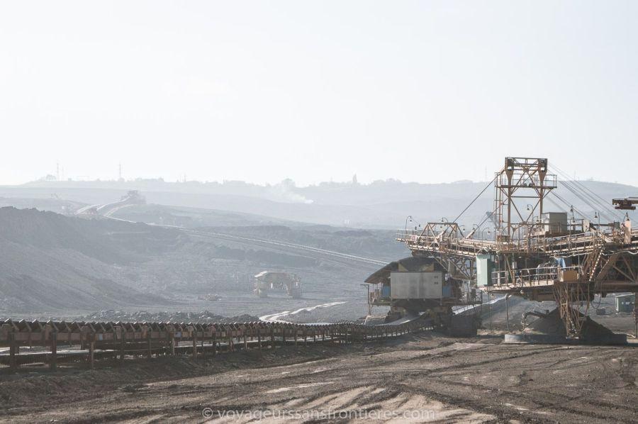 Coal mine in Most - Northwest Bohemia, Czech Republic