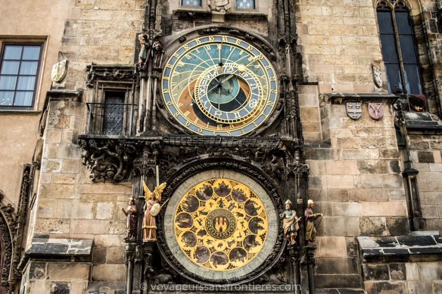 The astronomical clock - Prague, Czech Republic
