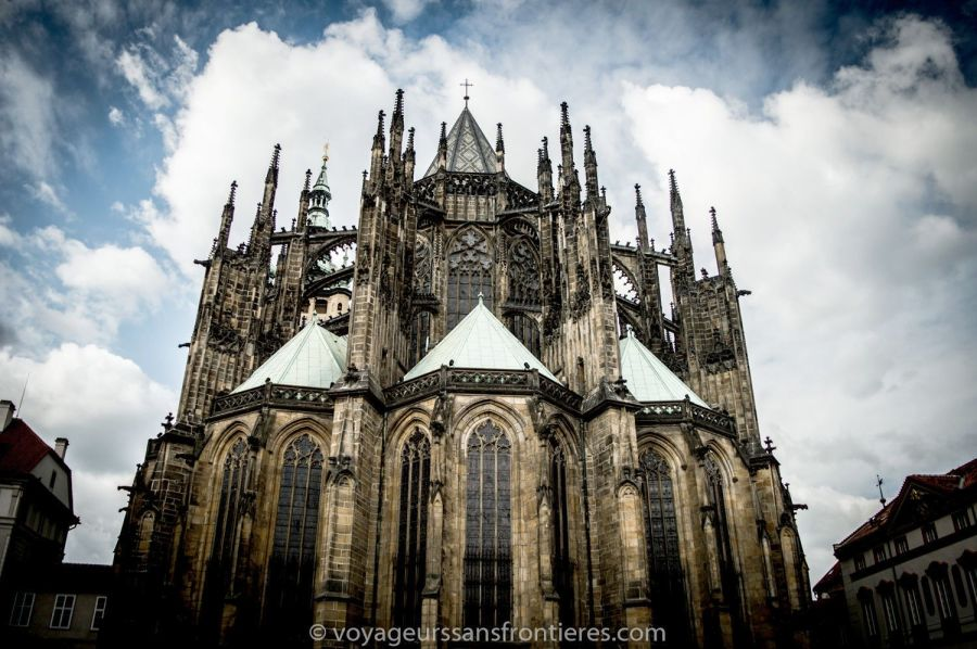 The Saint-Guy Cathedral at the Prague Castle - Prague, Czech Republic