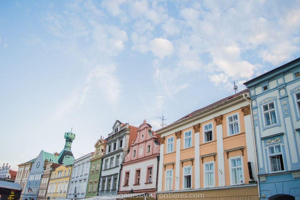 Centre ville de Litomerice - Bohème du Nord, République Tchèque