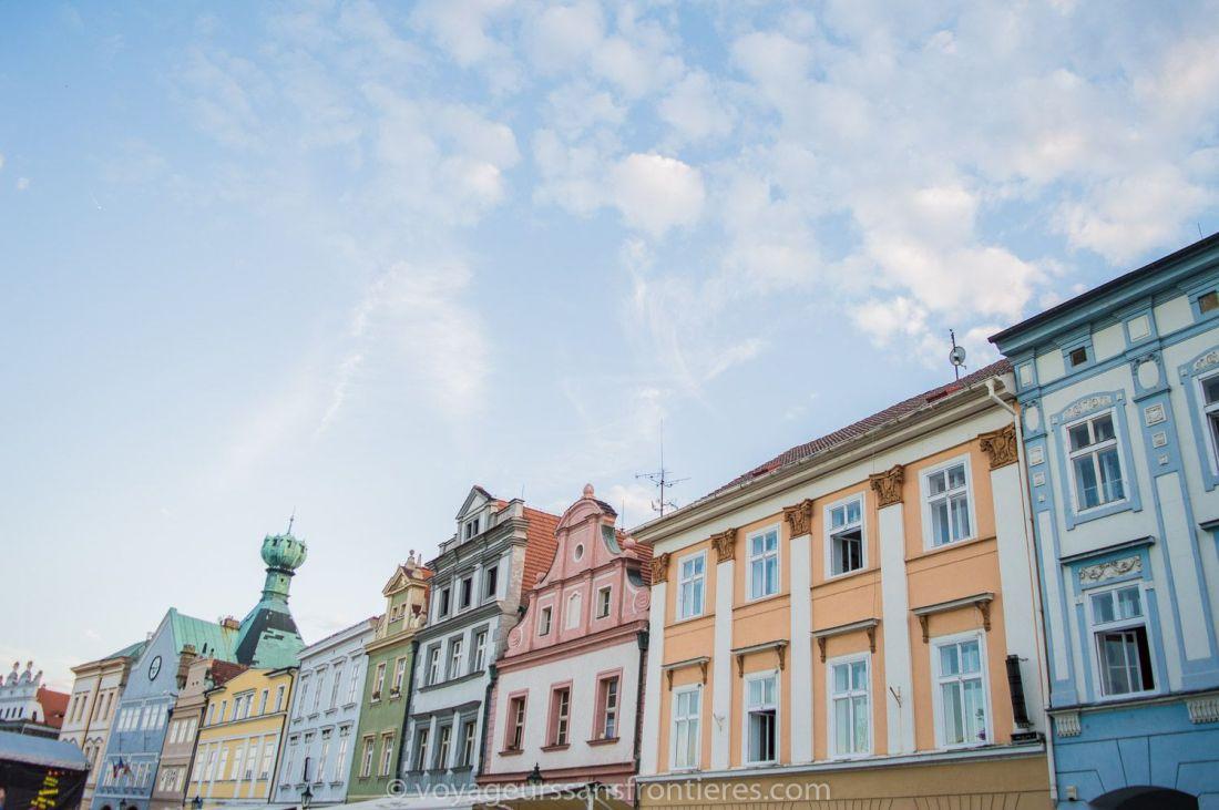 Litomerice city center - Northwest Bohemia, Czech Republic