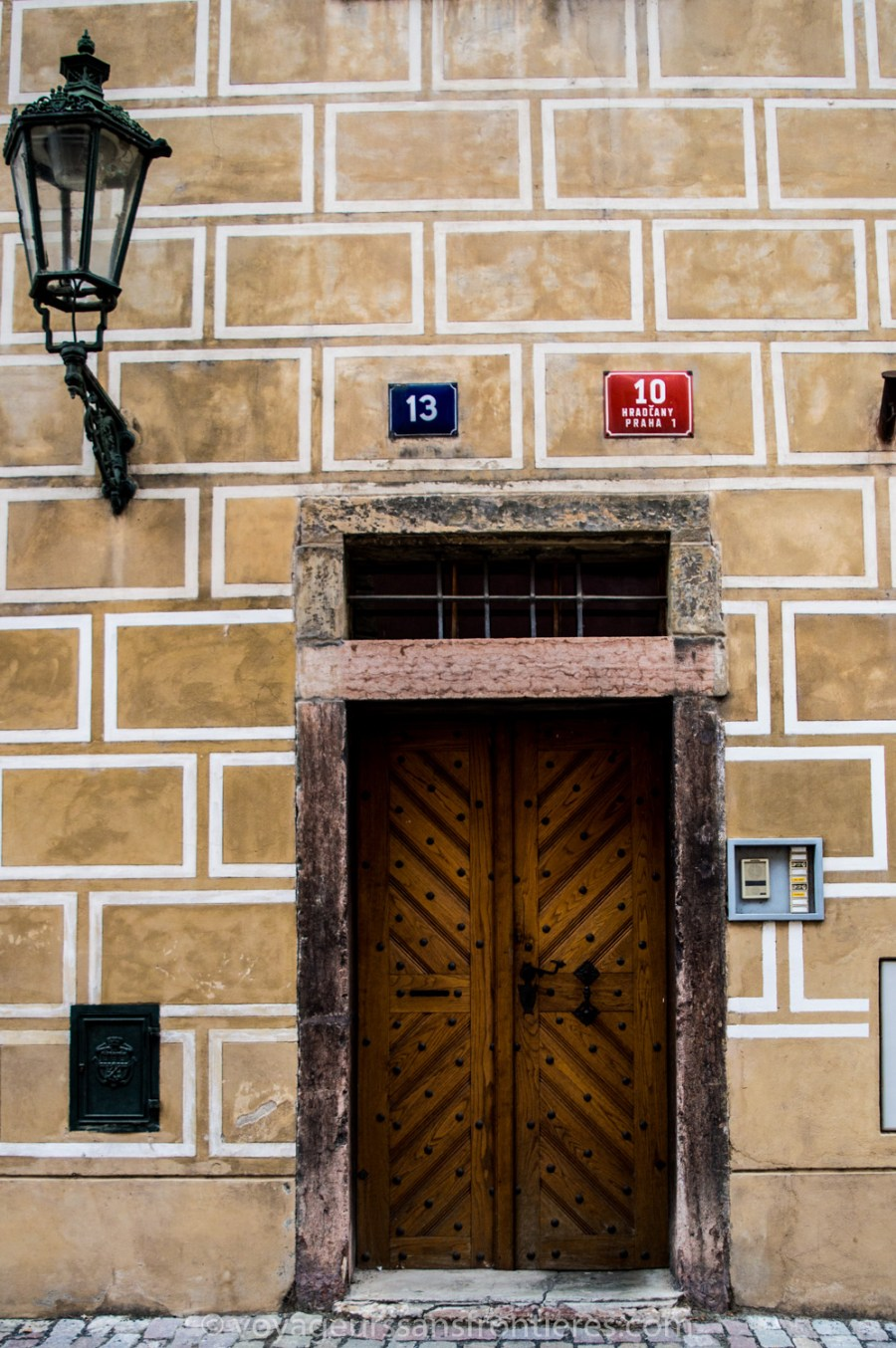 A door at the Prague Castle - Prague, Czech Republic