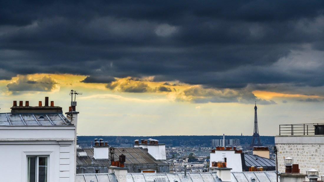 View over Paris from Montmartre - Paris, France
