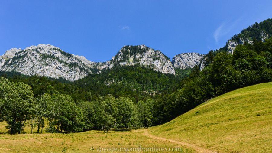 Nice mountain landscape - Saint-Pierre-de-Chartreuse, France
