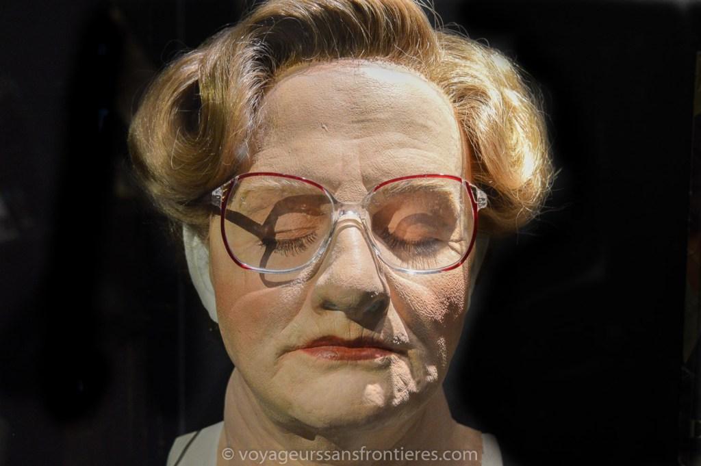 Masque de Madame Doubtfire au Musée Miniature et Cinéma - Lyon, France