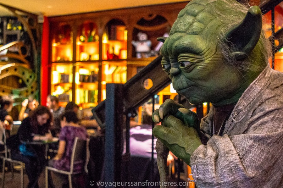 Master Yoda at the Dernier bar avant la fin du Monde - Paris, France