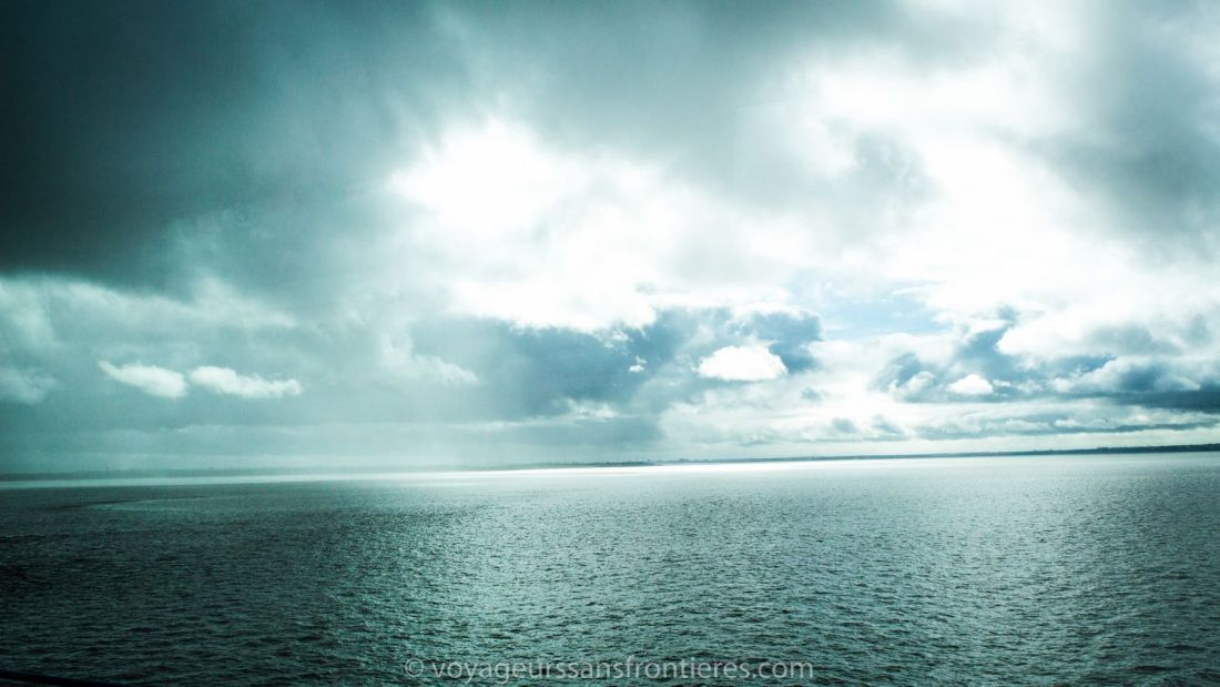 Jolie paysage lors d'un voyage avec Eurolines