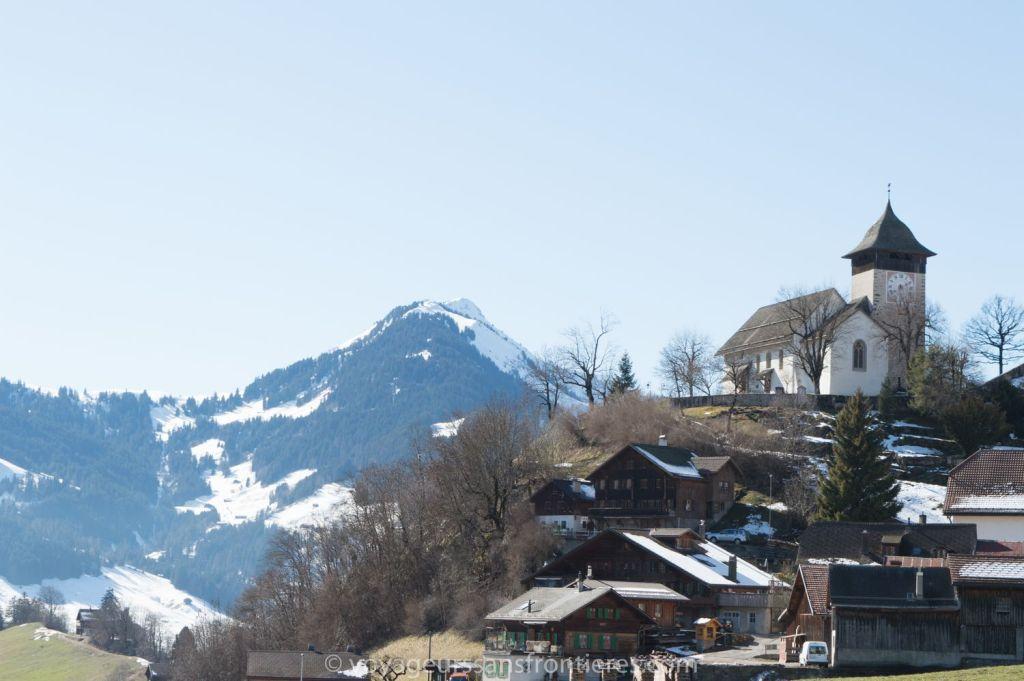 Château d'Oex, Suisse