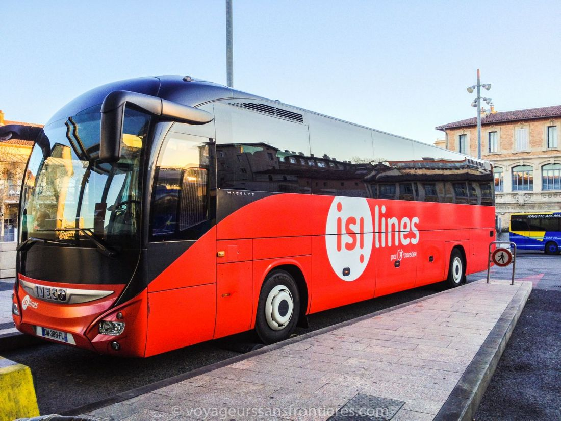 An Isilines coach - Marseille, France