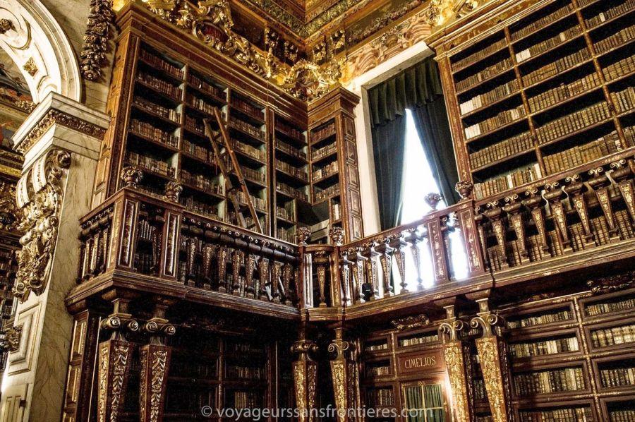 La bibliothèque Joanina - Université de Coimbra, Portugal