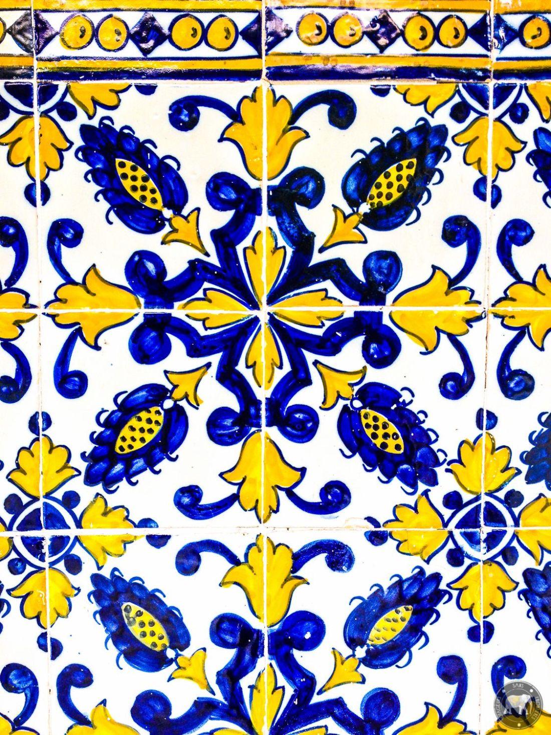 Azulejos - Coimbra, Portugal