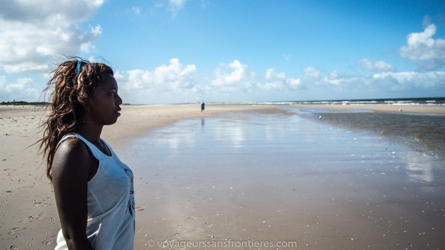 Nath on the Kijkduin beach - The Hague, Netherlands