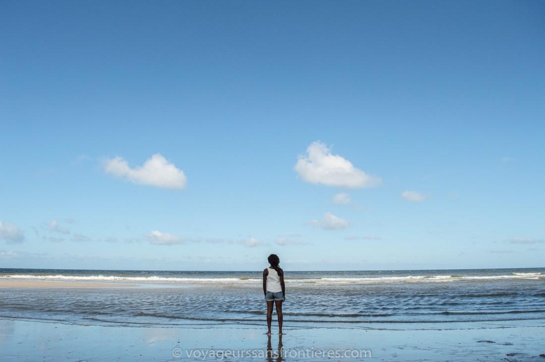 Nath on the Kijkduin beach - The Hague, Netherlands