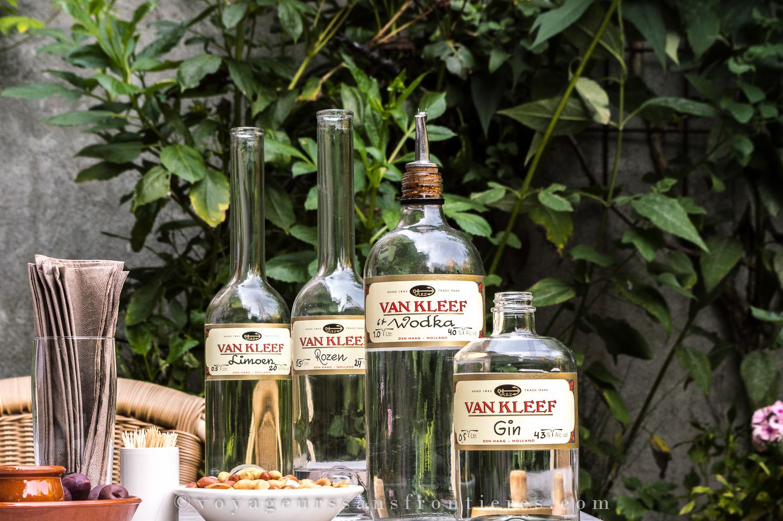 Bouteilles de liqueurs Van Kleef - La Haye, Pays-Bas