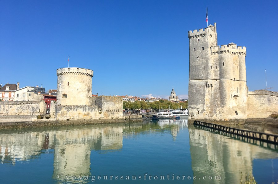 Tour de la Lanterne and Tour Saint Nicolas - La Rochelle, France