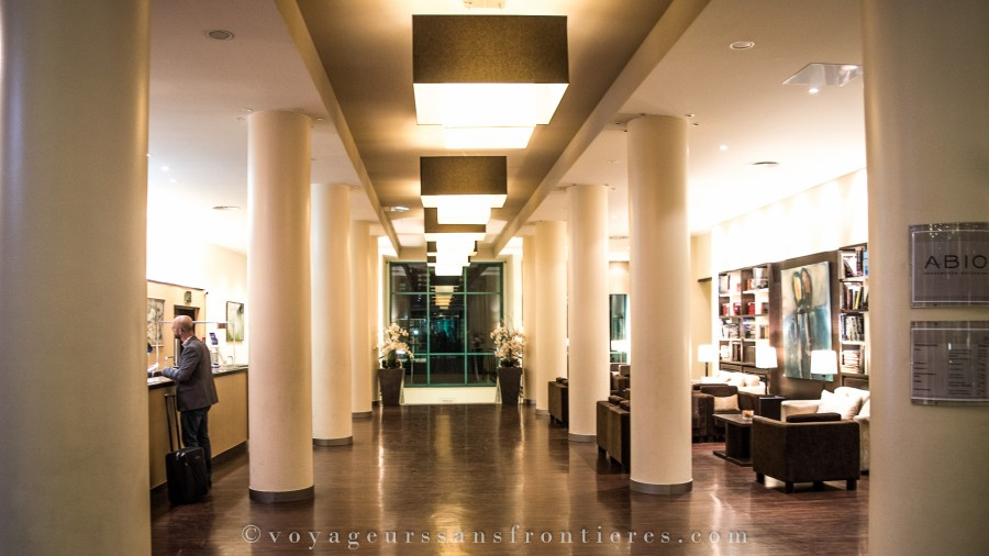 The Ameron Abion hotel's lobby - Berlin, Germany