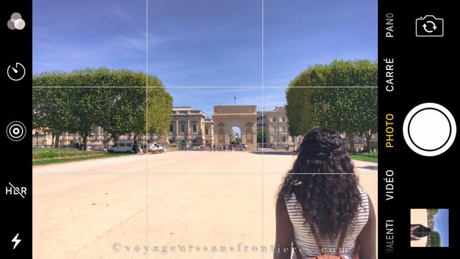 Impressions écran iPhone - Voyageurs Sans Frontières