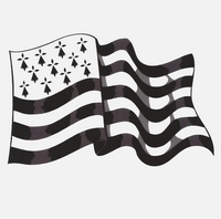 Breton flag - Travelers without borders