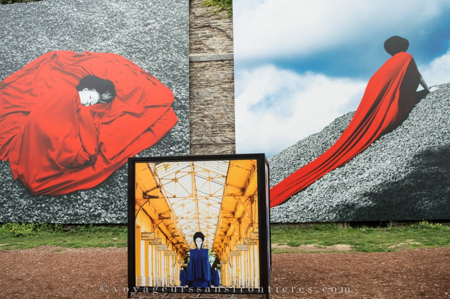 """""""The world is 9"""" by Aida Muluneh - 2017 Photo Festival - La Gacilly, Brittany"""