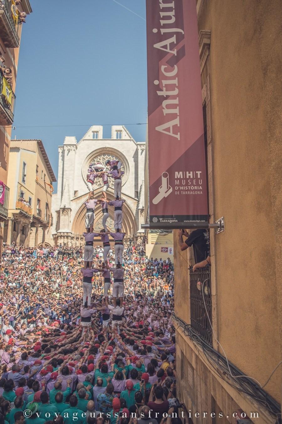 Castellers - Tarragone, Catalogne