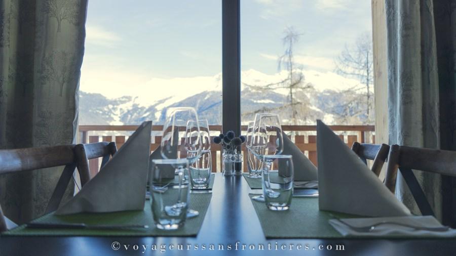 Restaurant le Bois Sauvage - Val d'Hérens, Suisse